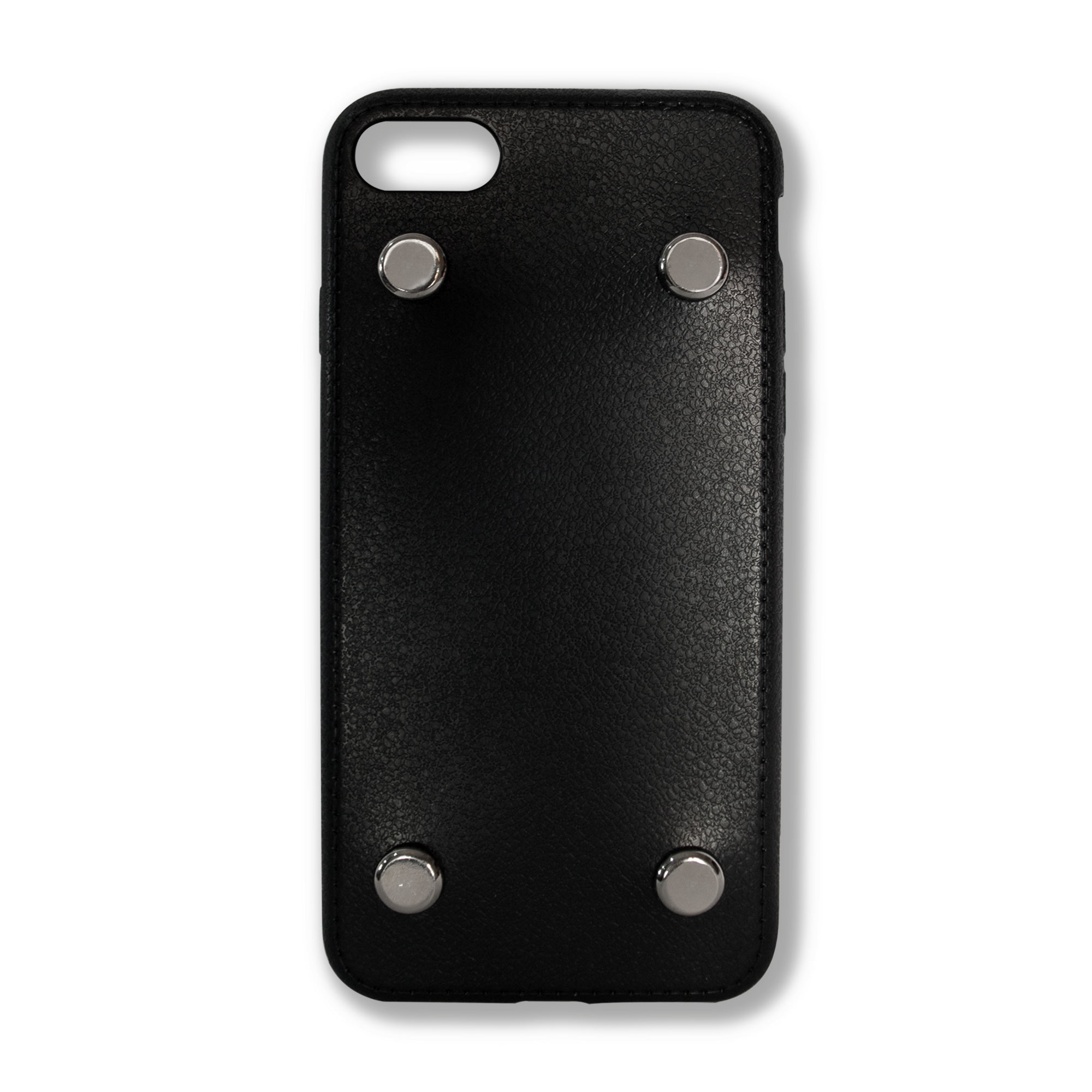 Basic Case with Silver Studs - Black Soft Case