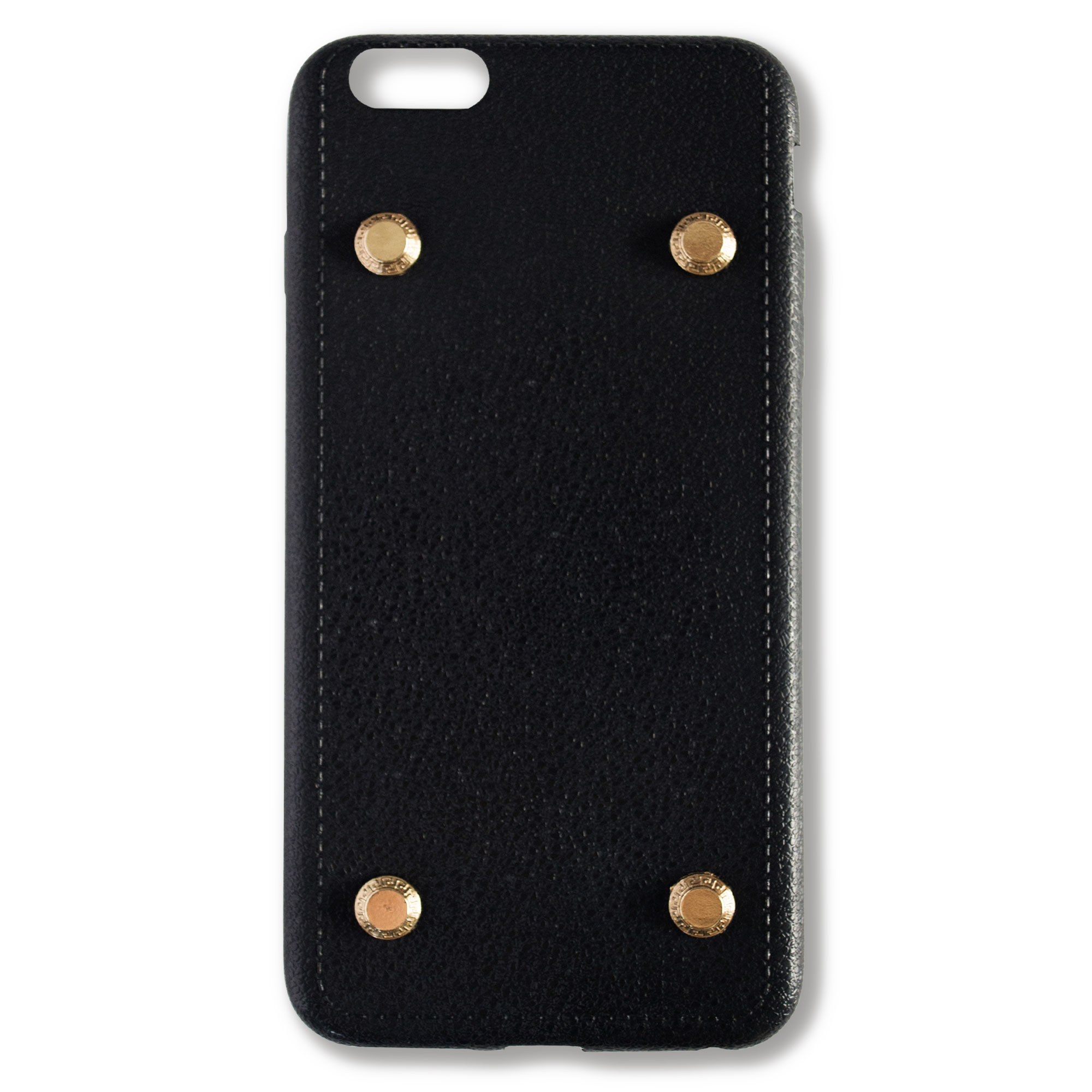 Far East Case with Gold Studs - Black Soft Case
