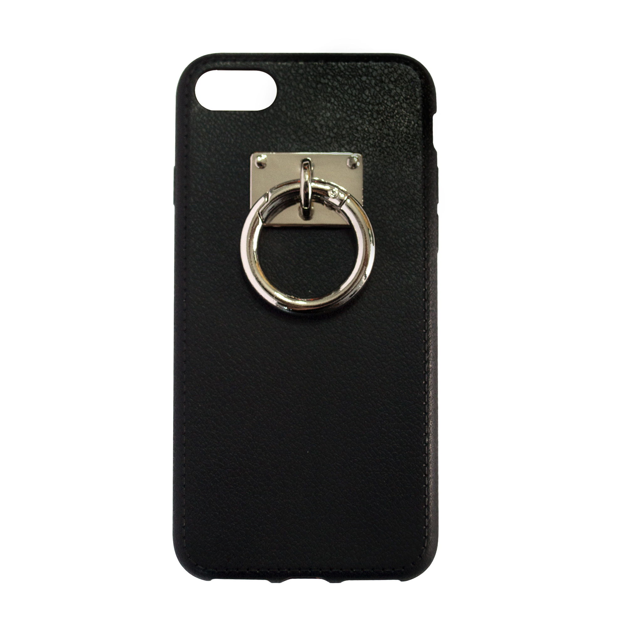 Manacle XL Case with Silver Hardware - Black Soft Case